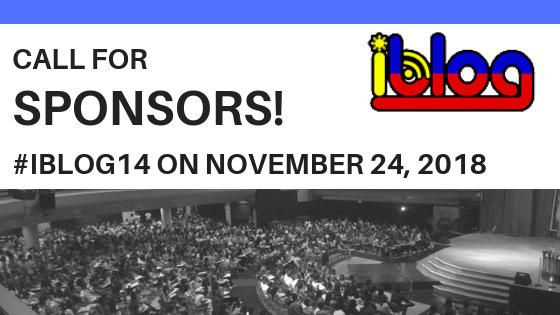 call for sponsors iblog14